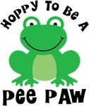 Hoppy to be a Pee Paw Gifts and T-shirts