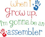 Future Assembler Kids T-shirt