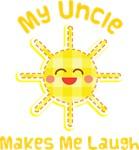 My Uncle Makes Me Laugh Kids Apparel