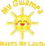 My Gwampa Makes Me Laugh Kids Apparel