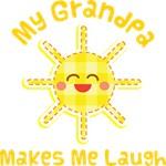 My Grandpa Makes Me Laugh Kids Apparel