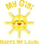 My Gigi Makes Me Laugh Kids Apparel