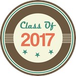 Vintage Class of 2017 School T-shirts