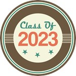 Vintage Class of 2023 School T-shirts