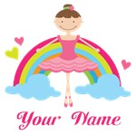 Personalized Ballerina Dance T-shirt Gifts