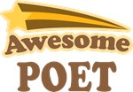 Awesome Poet Gifts T-shirts