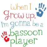 Future Bassoon Player Kids Music Tees