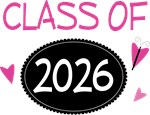 Cute Class of 2026 Pride T-shirts