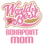 Boxapoint Dog Mom T-shirts