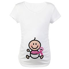 Pink Ribbon Maternity Awareness T-shirts