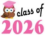 Class of 2026 Graduation Tee Shirts (owl)