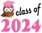 Class of 2024 Graduation Tee Shirts (owl)