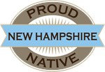 Proud New Hampshire Native T-shirts
