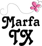 Marfa Texas Butterfly T-shirts and Hoodies