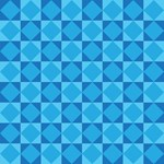 Checkerboard Bllue Pattern Gifts