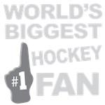 Hockey Fan Foam Hand Tees
