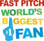 Fast Pitch Fan Sports T-shirts