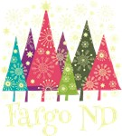 Fargo North Dakota Holiday Tshirts