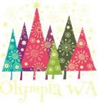 Olympia Washington Holiday Tshirts