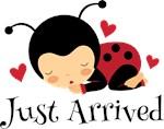 Just Arrived Ladybug Baby