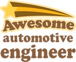 Awesome Automotive Engineer T-shirts