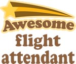 Awesome Flight Attendant T-shirts