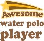 Awesome Water Polo Player T-shirts