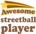 Awesome Streetball Player T-shirts