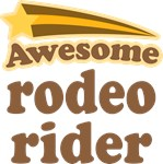 Awesome Rodeo Rider T-shirts