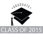 Class Of 2015 Graduation Logo Tees