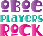 Oboe Players Rock T-shirts and Music Gifts