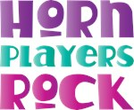 Horn Players Rock T-shirts and Gifts
