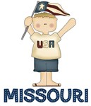 Missouri USA T-shirts and Patriotic Gifts