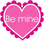 Be Mine Pink Valentine T-shirts & Gifts
