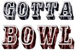 Marbelized Bowling T-shirts Gotta Bowl Design