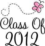 Pink Grad Class Of 2012