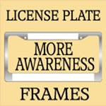 More Awareness License Frames
