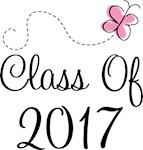 Pink Graduation Class Of 2017 Tees