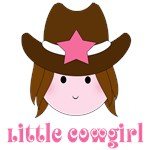 Cute Little Cowgirl T-shirts