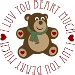 Luv You Beary Much Gifts and T-shirts