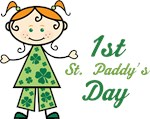 1st St Paddys Day T-shirts