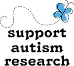 Support Autism Research Butterfly T-shirts