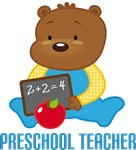 Preschool Teacher Bear T-shirts and Gifts