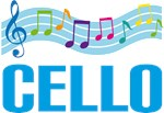Music Staff Cello Tshirts and Hoodies