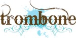 Cool Grunge Trombone Tshirt Gifts
