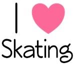 I Love Skating T-shirts and Hoodies