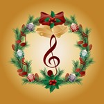 Treble Clef Christmas Music Fan Gifts and Mugs