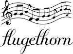 Flugelhorn Music Staff T shirt Gifts
