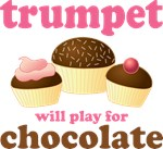 Trumpet Chocolate T-shirts / Gifts