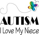 Autism Aunt I Love My Niece T-shirts